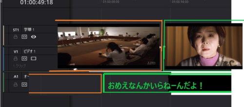 ジェネラル・ルージュの凱旋 映画 Jカット 動画編集