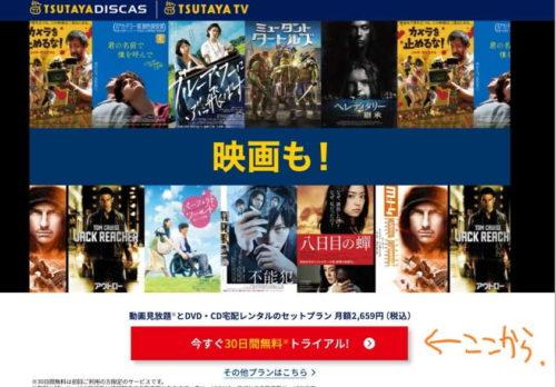 TSUTAYA DISCAS レンタル DVD