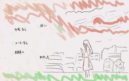 『BLUE REFLECTION RAY/澪』 第10話,画面分割